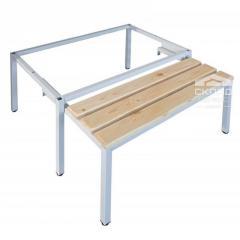 Выдвижная скамейка-подставка под гардеробные шкафы