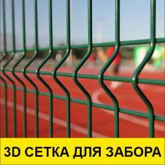 3D забор , сварная 3д секция, секция ограждения 3D