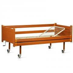 Кровать деревянная функциональная двухсекционная,