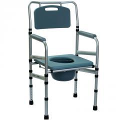 Складной стул-туалет с мягким сиденьем...