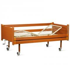 Кровать деревянная функциональная трехсекцион
