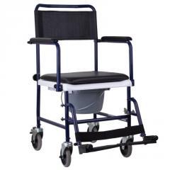 Кресло-каталка с санитарным оснащением, кресло каталка для пожилых людей MOD-JBS367A OSD