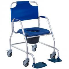 Кресло-каталка для душа и туалета, кресло каталка для туалета и душа OBANA 540381 OSD