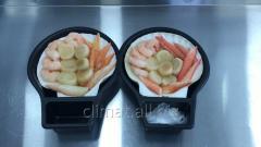 Морской деликатес ссоусом карри,ореховым соусом
