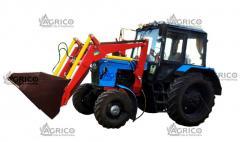 ПБМ на трактор+вилы+крюк+захват челюстной