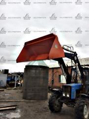 Погрузчик ПБМ-1200 трактор МТЗ,  ЮМЗ + крюк...