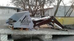 Фронтальный погрузчик на трактор МТЗ, ЮМЗ + крюк + вилы + челюстной захват