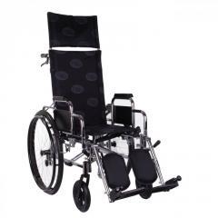 Многофункциональная коляска «RECLINER» хром...