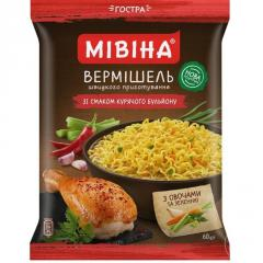 Vermicelli Mivina with taste of chicken mild 60g