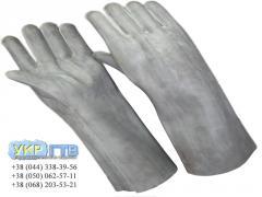 Диэлектрические резиновые перчатки шовные