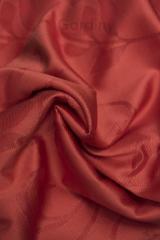 Полотно портьерное жаккардовое СОФТ Красный