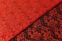 Кружевное полотно рис.129 Красный