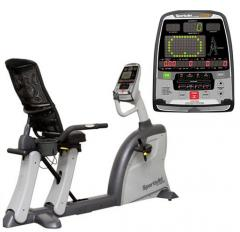 The exercise bike is horizontal, SportsArt, C532R,