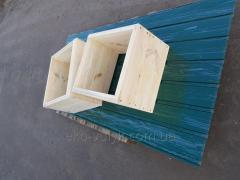 Деревянный корпус Дадан для улья на рамку...