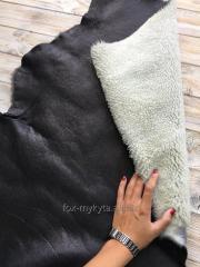 Кёрли на коже (натуральный дублёночный мех)