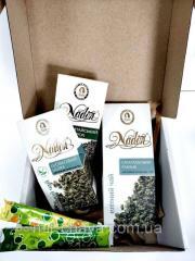 Новогодний Чайный подарочный набор Green Tea 200
