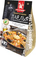 Паэлья с морепродуктами, 0,140 кг