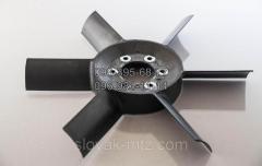 Вентилятор (крыльчатка) трактора МТЗ. 6 лопастей.