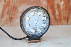 Светодиодная LED фара круглая рабочая 27W/60°