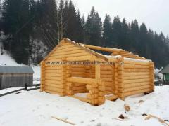 Дом со сруба (Проект Дома S=28 М²)