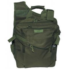 Рюкзак-сумка трансформер MFH олива