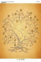 Схема для вышивания бисером Древо изобилия с