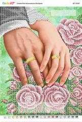 Схема для вышивания бисером Талисман любви