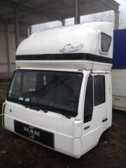 MAN L2000 cabin with a sleeping bag