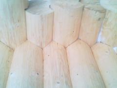 Bar from a fir-tree Carpathian thicknesses.