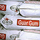 Edible guar gum (E412)