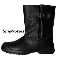 """Semi-boots molding """"Pros"""" art."""