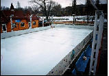 Skating rinks are ice collapsible.
