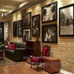 Установка галерейной подвесной системы для картин