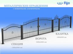Секция ворот Вензель1500*2000