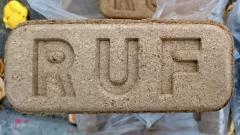 Топливный брикет из 100% дуба RUF (Руф) 3900грн/т