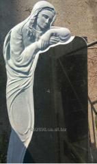 Памятник  надгробный  Скорбящая из гранита