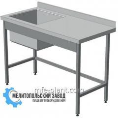 Стол -Мойка 1200х600х850,  1-секционная с...
