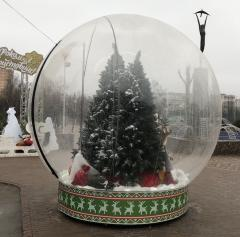 Miracle ball snow globe transparent sphere