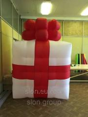 Inflatable outdoor decoration