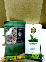 подарочный  набор  чая  Детокс 150 г Nadin