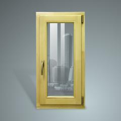 Производим окна из натуральной древесины, товар