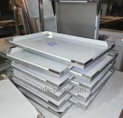 Baking trays for bakeries