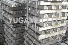 Piston aluminum alloy, aluminum in chushka