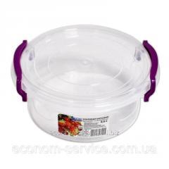Контейнер пищевой круглый №1 0,6л Ал-Пластик
