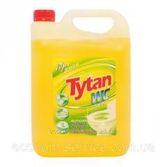 Средство для мытья туалетов Tytan Лимон желтый, 5