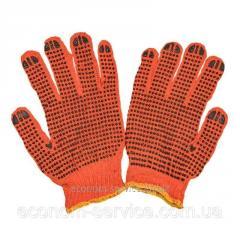 Перчатки рабочие Fara х/б с покрытием пвх