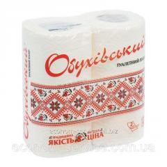 Туалетная бумага Обухівський туалетний папір