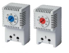 THR1 Термостат механичний на DIN-рейку -10/+50°C