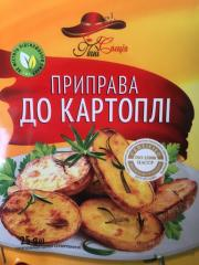 Приправа до картоплі Юна 25г