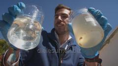 Clarification of reservoirs natural probiotics